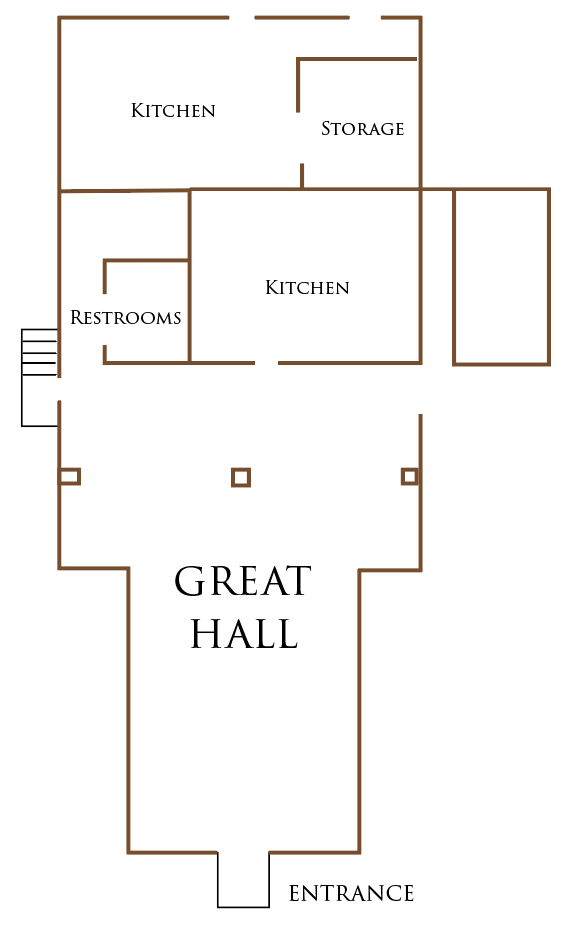 Venue Space - Great Hall Map